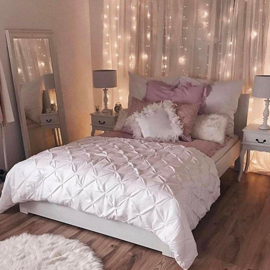 Pingl Par Dreamer Girl Sur Bedroom Pinterest