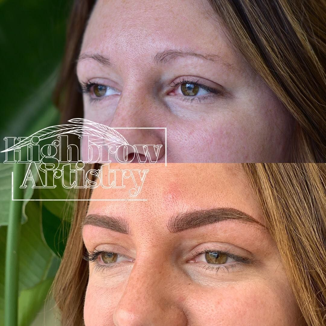 Blade and shade Brows! Highbrow Artistry located in