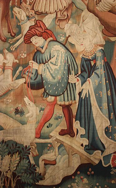 Devonshire Hunting Tapestry (a tapestry that was once in Hardwick Hall)