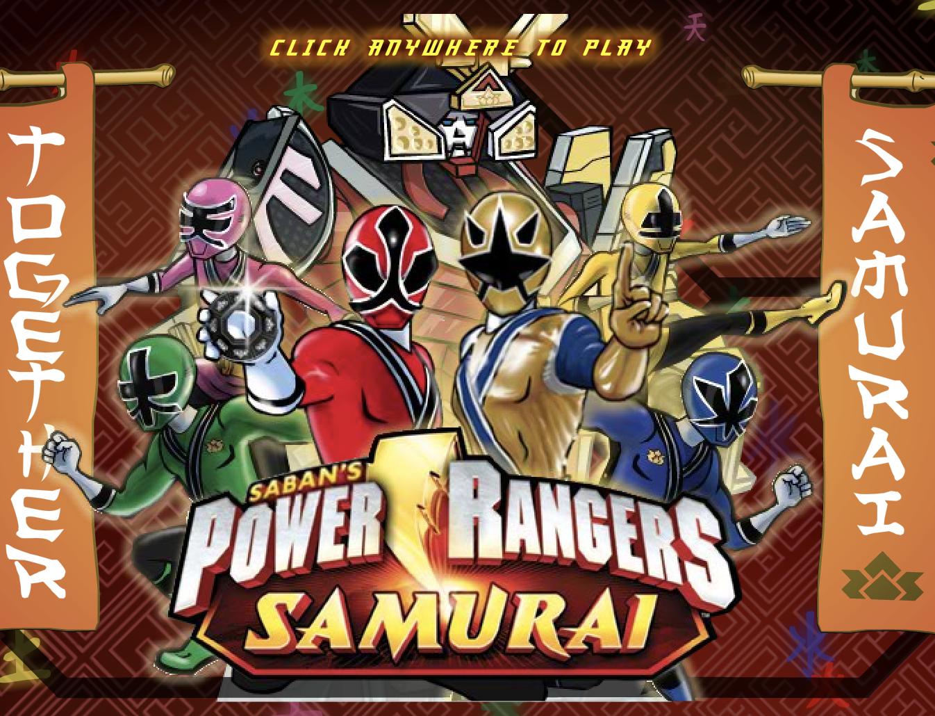 Play Power Rangers Rangers Together Samurai Forever Game Samurai Games Power Rangers Games Power Rangers Samurai