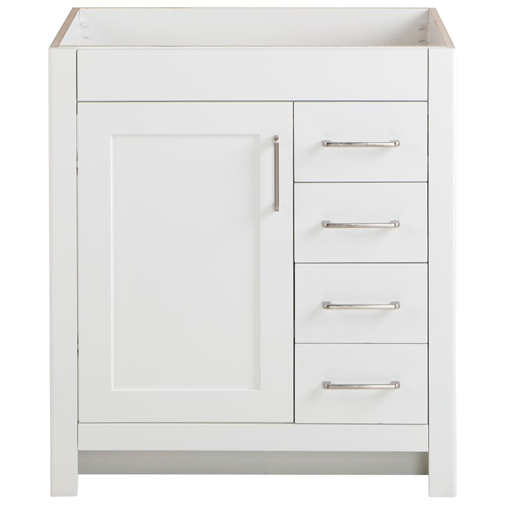 Home Decorators Collection Westcourt 48 In W X 21 In D X 34 In H Bath Vanity Cabinet Only In Cream Wt48 Cr The Home Depot In 2021 Vanity Cabinet Bathroom Vanities