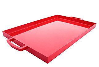 I like these serving trays, they come in differ sizes and various colors