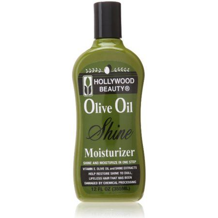 Hollywood Beauty Olive Oil Moist & Shine Moisturizing Hair