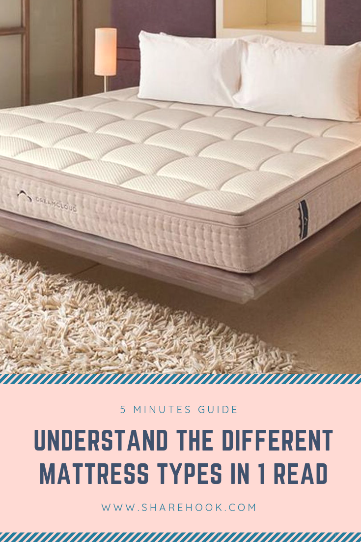 5 Minutes Guide To Understanding Different Mattress Types