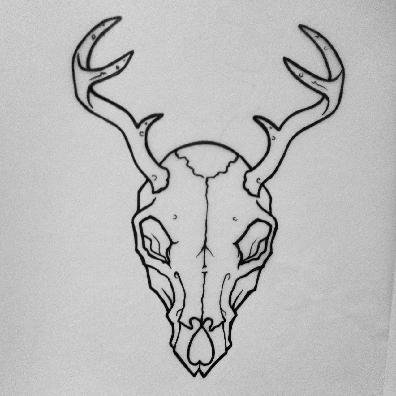 deer skull tattoos tumblr - Google Search | TATTOOS ...