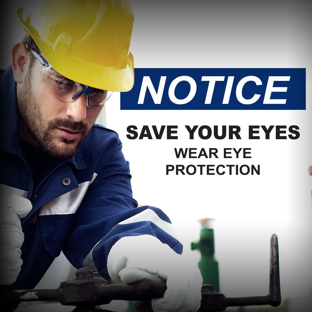 All in favor of safety, say EYE! For Eye Injury Prevention