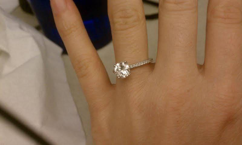 Engagement Rings Simple Thin Band 19