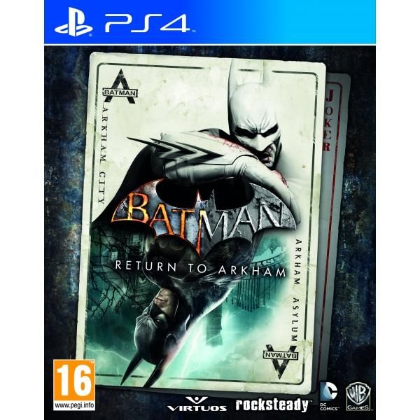 batman return to arkham ps4 game shares - Ps4 Video Games