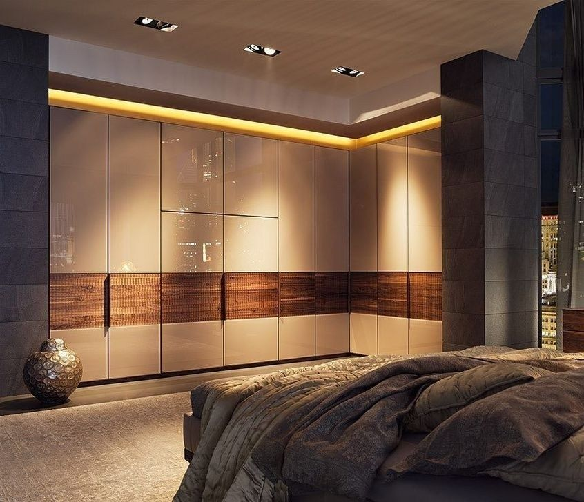37 Best Small Bedroom Ideas And Designs For 2020: Best Wardrobe Design Ideas For Your Small Bedroom 07 In