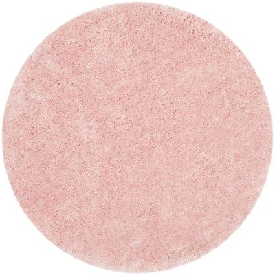 Viv Rae Dax Handmade Tufted Pink Area Rug Hand Tufted Rugs