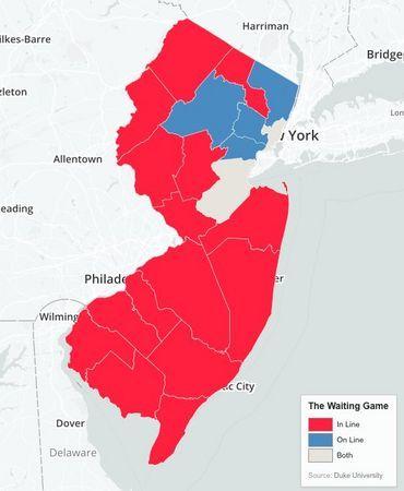 Mischief Night Goosey Night Sub Hoagie Nine Maps Showing How New Jersey Talks Waiting In Line Jersey New Jersey