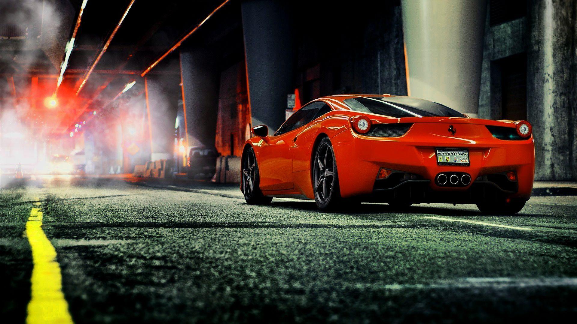 Hd Wallpaper Ferrari