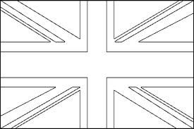 British Flag Outline Google Search Flag Coloring Pages