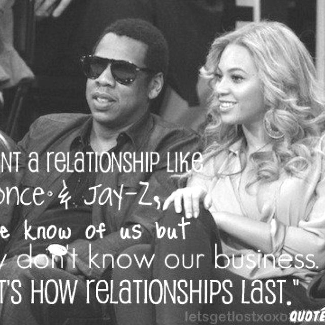 """I Want A Relationship Like Beyonce And Jay-Z, People Know Of Us But They Don't Know Our"