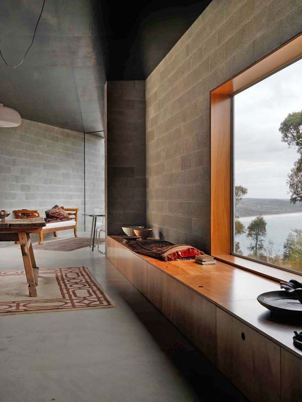 Loving the materiality of this Kerstin Thompson Architects house
