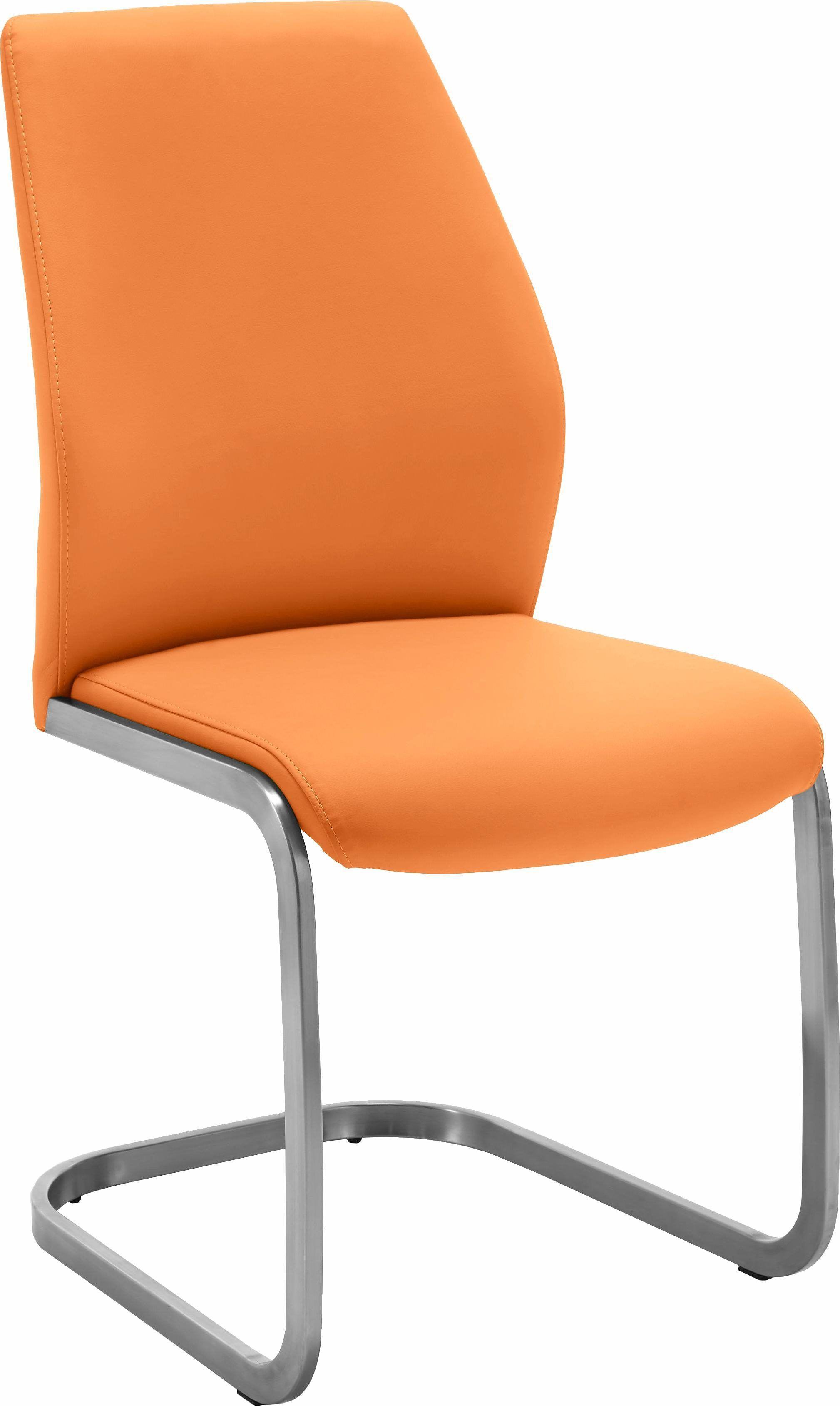 niehoff sitzmbel stuhl orange orange pflegeleichtes kunstleder jetzt bestellen unter httpsmoebelladendirektdekueche und esszimmerstuehle und - Esszimmer Orange