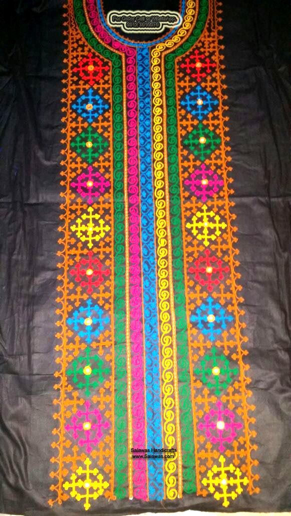 Explore New Sindhi Hand Embroidery Designs Of Shirts Dresses