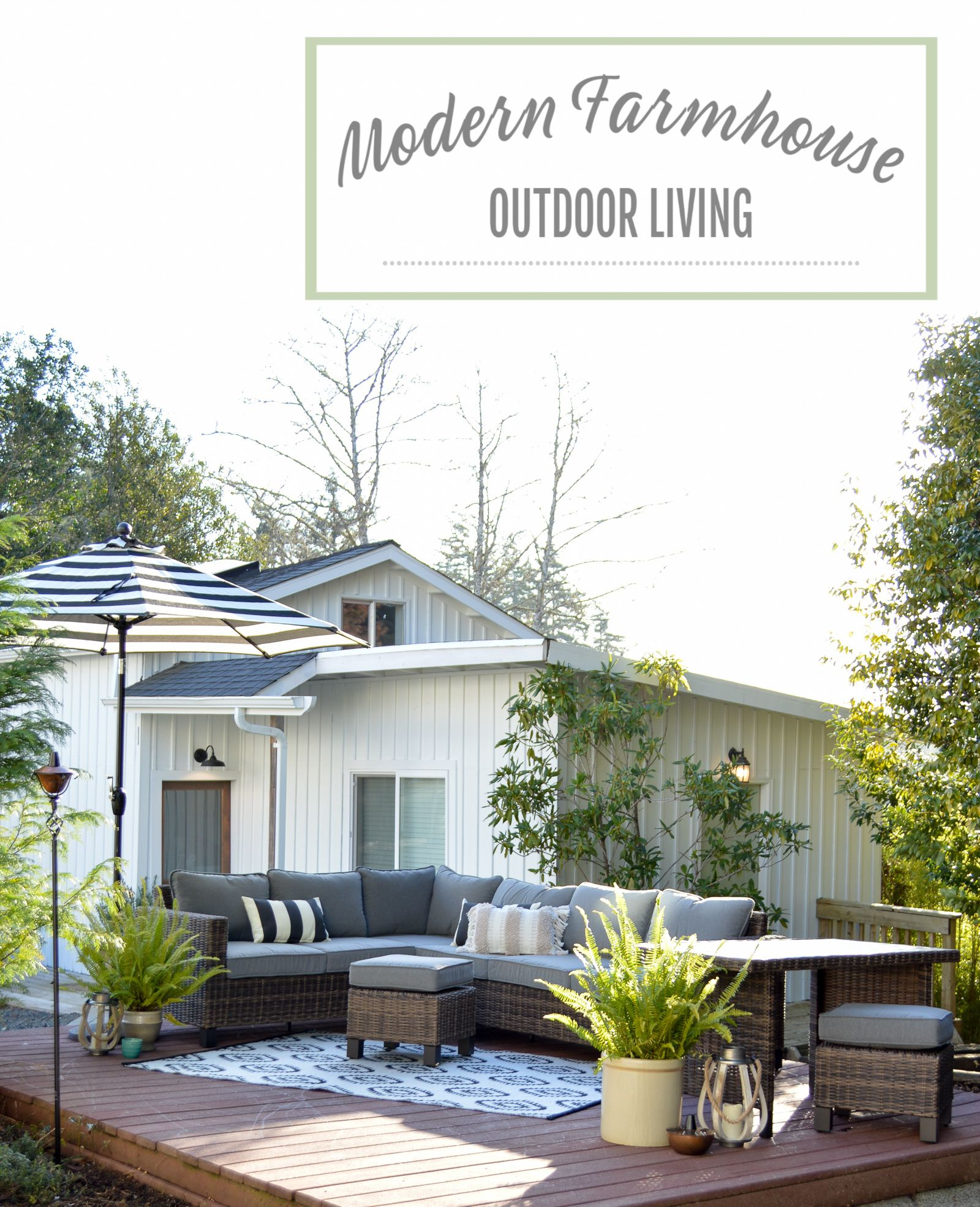 Beautifully Affordable Outdoor Patio Furniture Farmhouse Patio