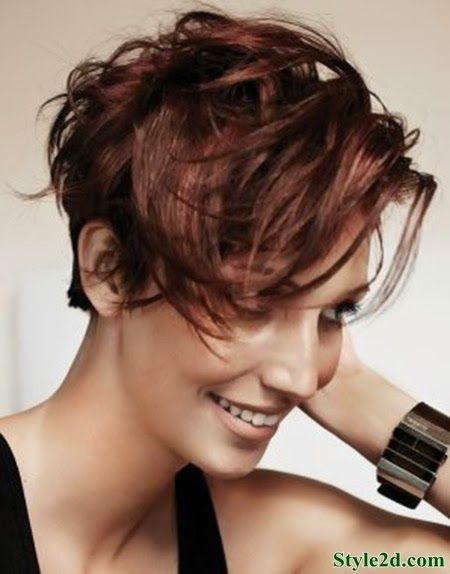 Short Messy Hairstyles Entrancing Short And Messy Hairstyles For Women Hairstyles 2013  2014  Hair