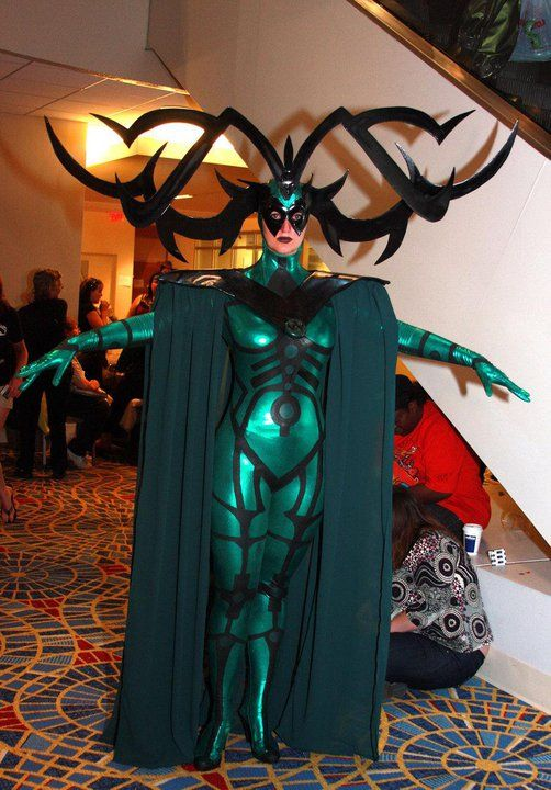 Hela amazing cosplay- I was considering doing this but I'm not as dedicated
