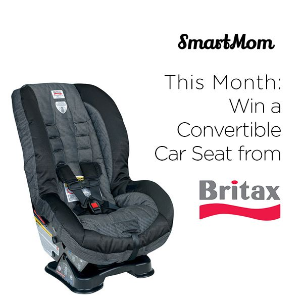 Win A Britax Roundabout Convertible Car Seat This Month On SmartMom Download The App To