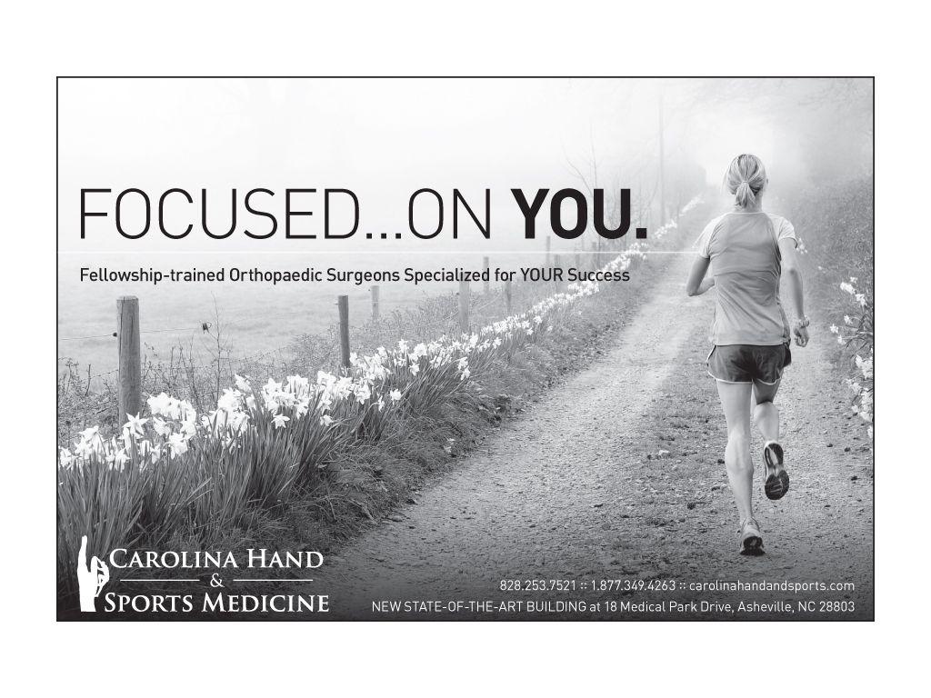 Carolina Hand and Sports Medicine ad. Asheville, NC | Client Work ...