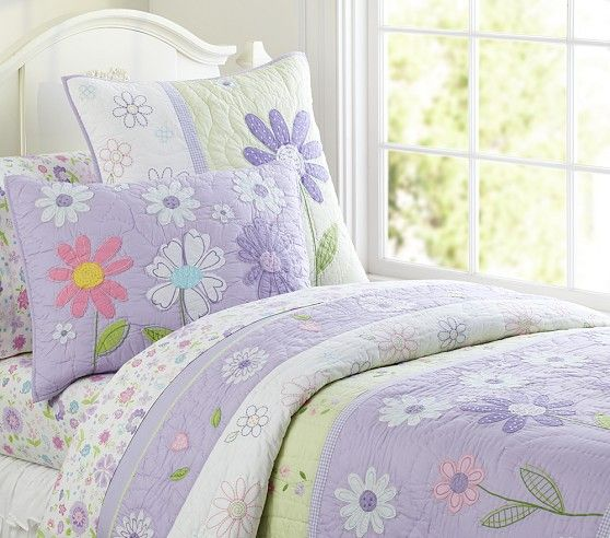 Daisy Garden Quilted Bedding Pottery Barn Kids Quilt