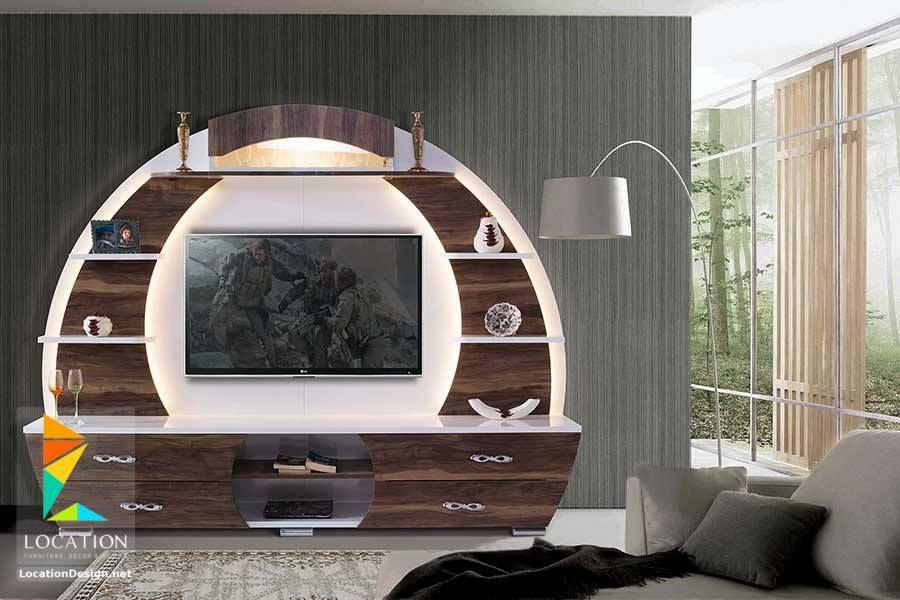 تصميم مكتبات مودرن افكار للتلفزيون المعلق على الحامل في الجدار 2019 Home Home Decor Outdoor Bed