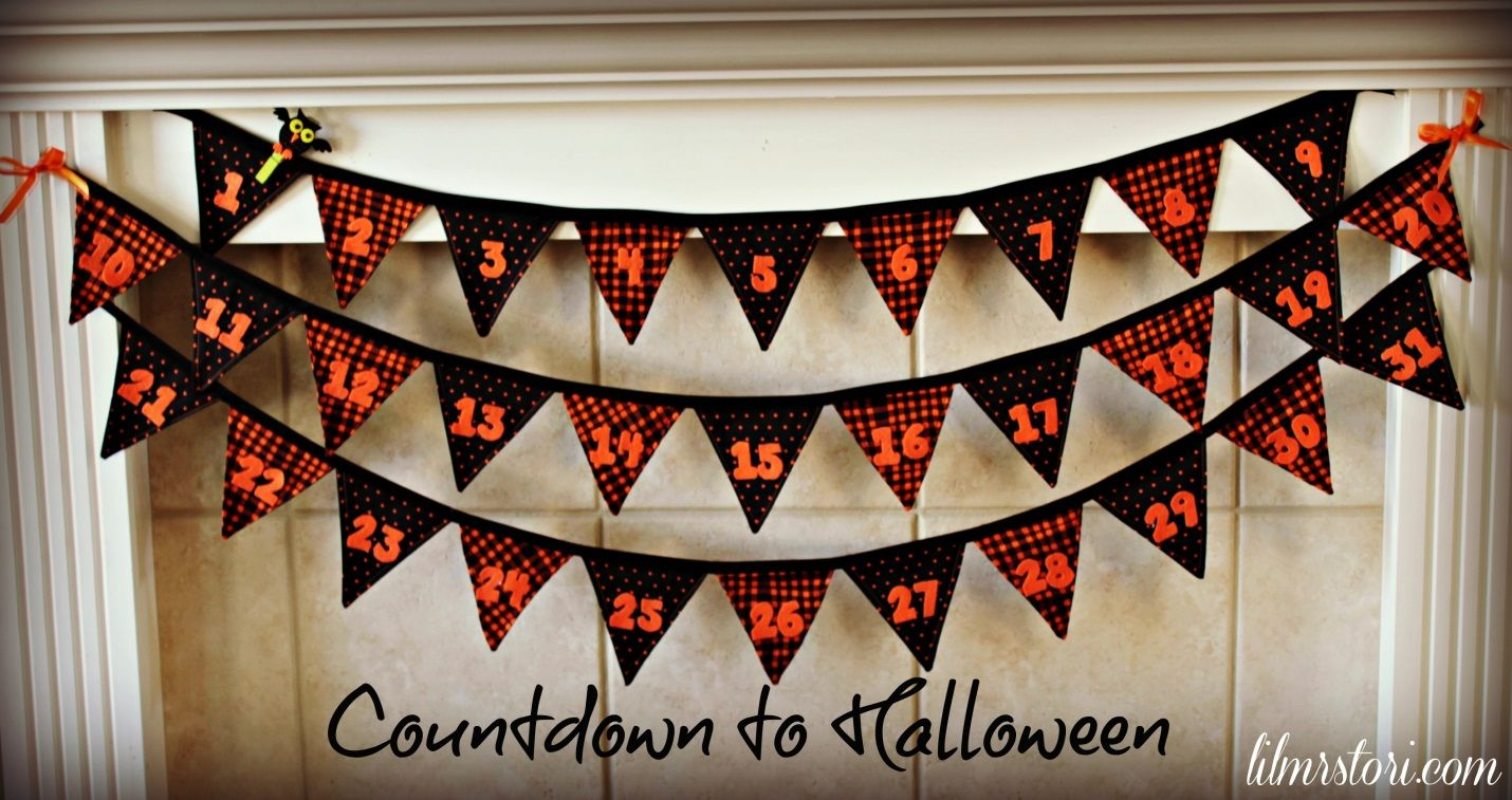 eighteen25 Halloween Pennant Banner (can be used for any