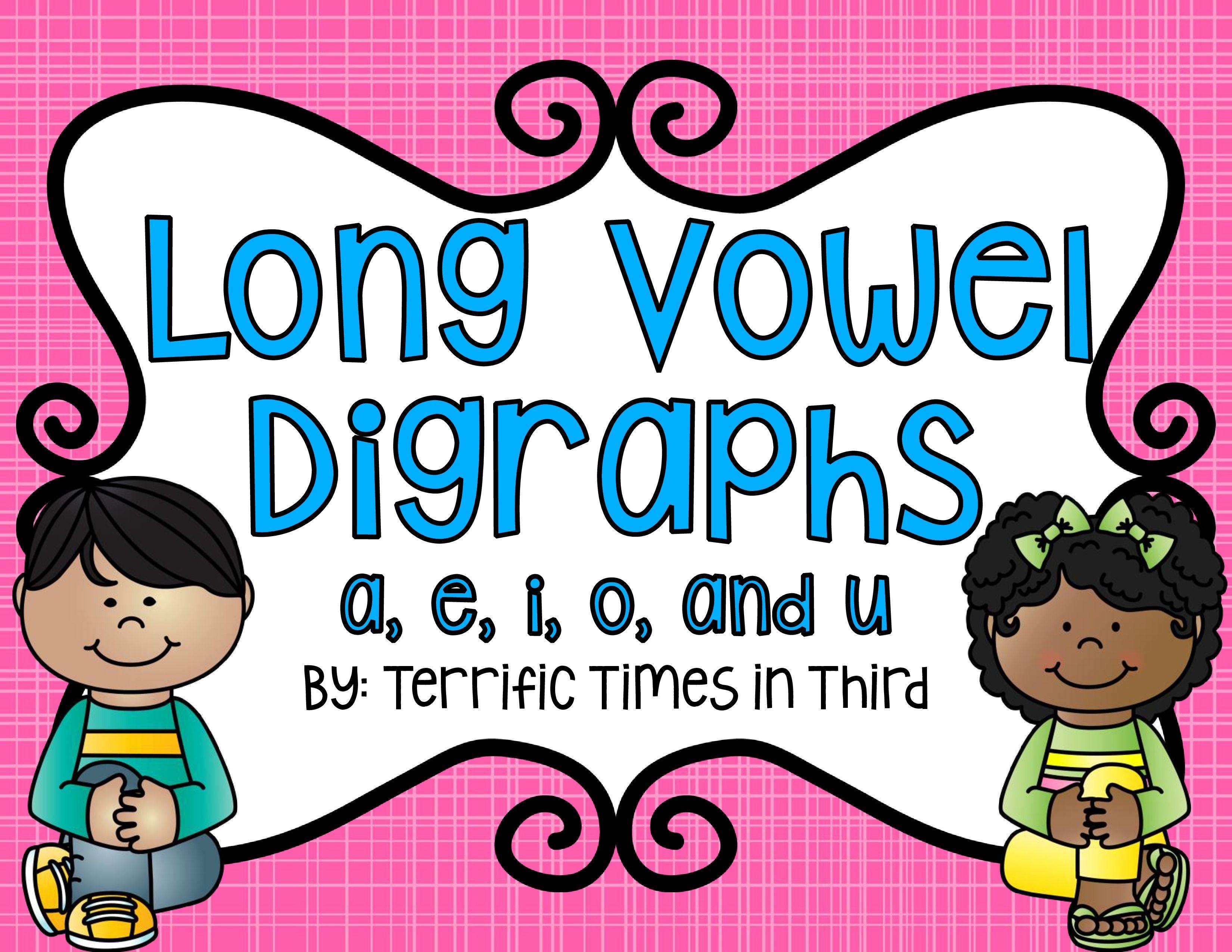 Long Vowel Digraphs No Prep Worksheets
