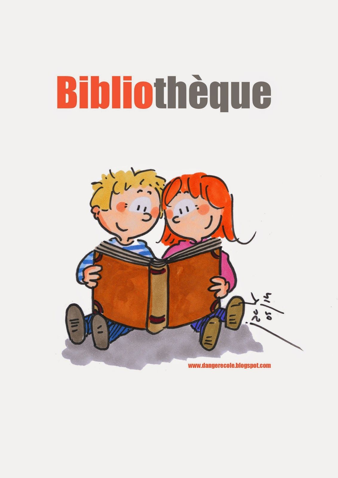 Jolie affiche pour la biblioth que ou coin lecture en for Objectif atelier cuisine en creche