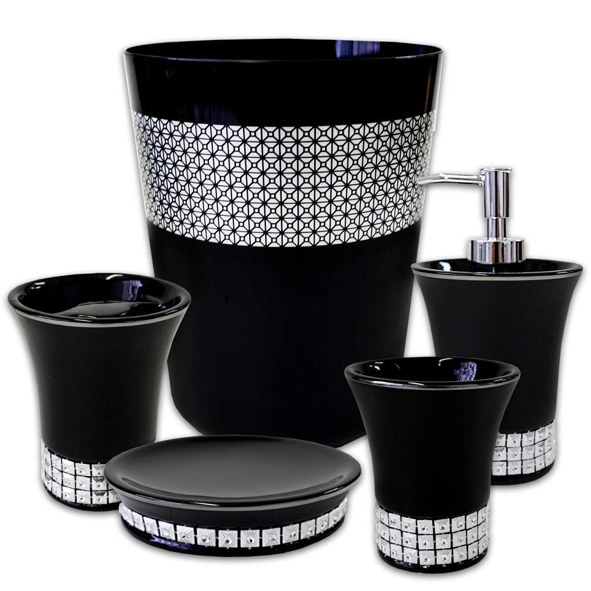 Anton Resin 5 Piece Bathroom Accessory Set | Bathroom ...