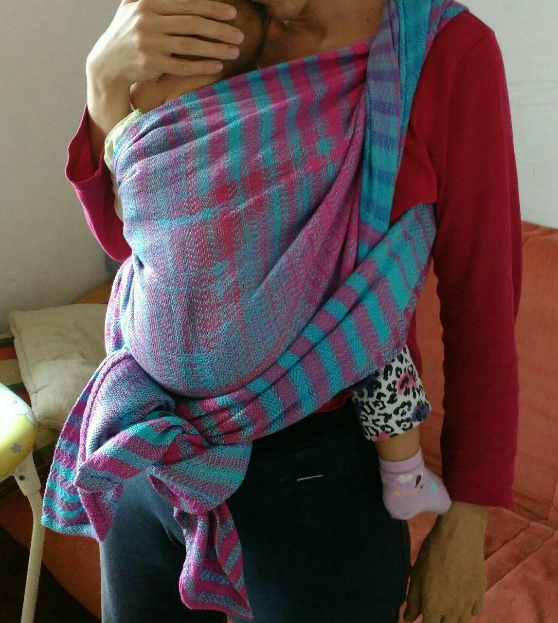Hand woven baby wrap,baby wearing carrier,handmade,handweavingbymima