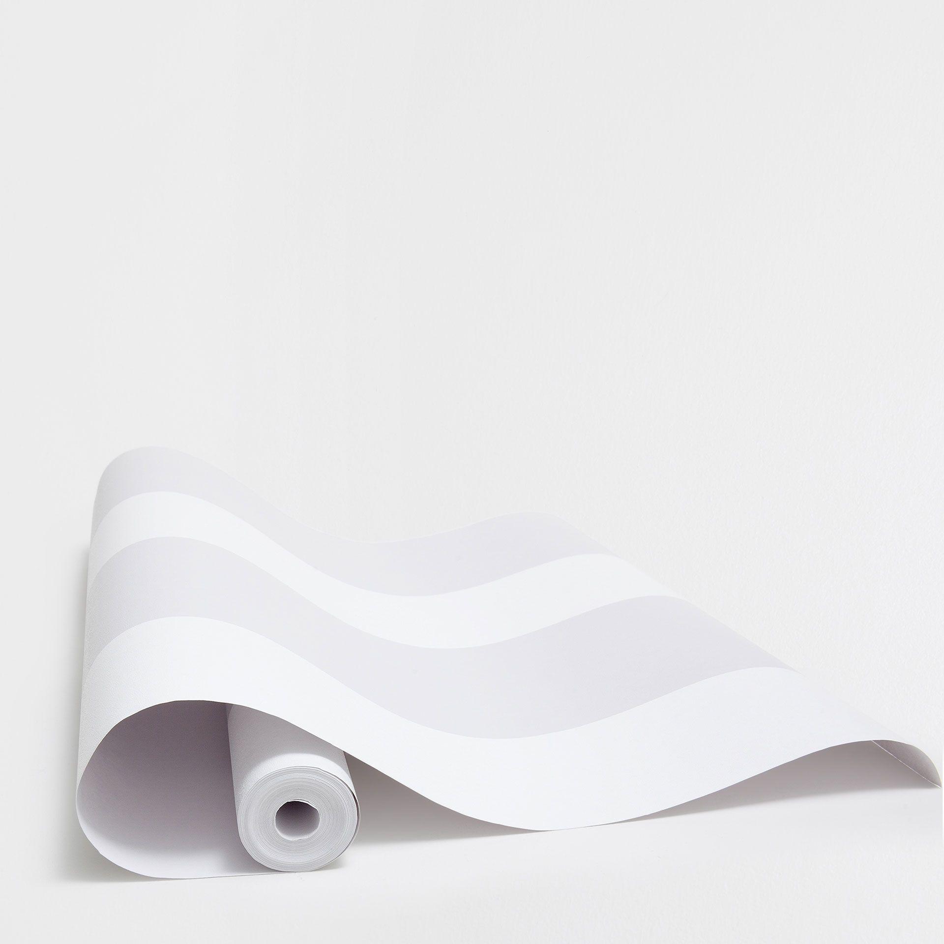 Papier Peint A Rayure Gris Et Blanc image 3 du produit papier peint rayures gris et blanc