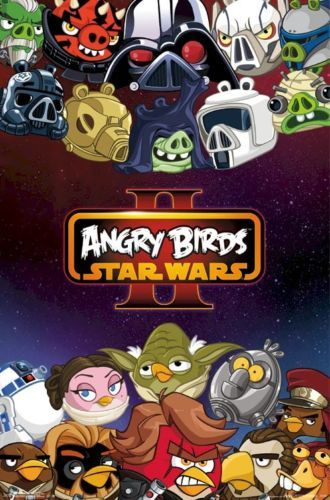 Details About Angry Birds Star Wars Ii Good Evil 22x34 Video