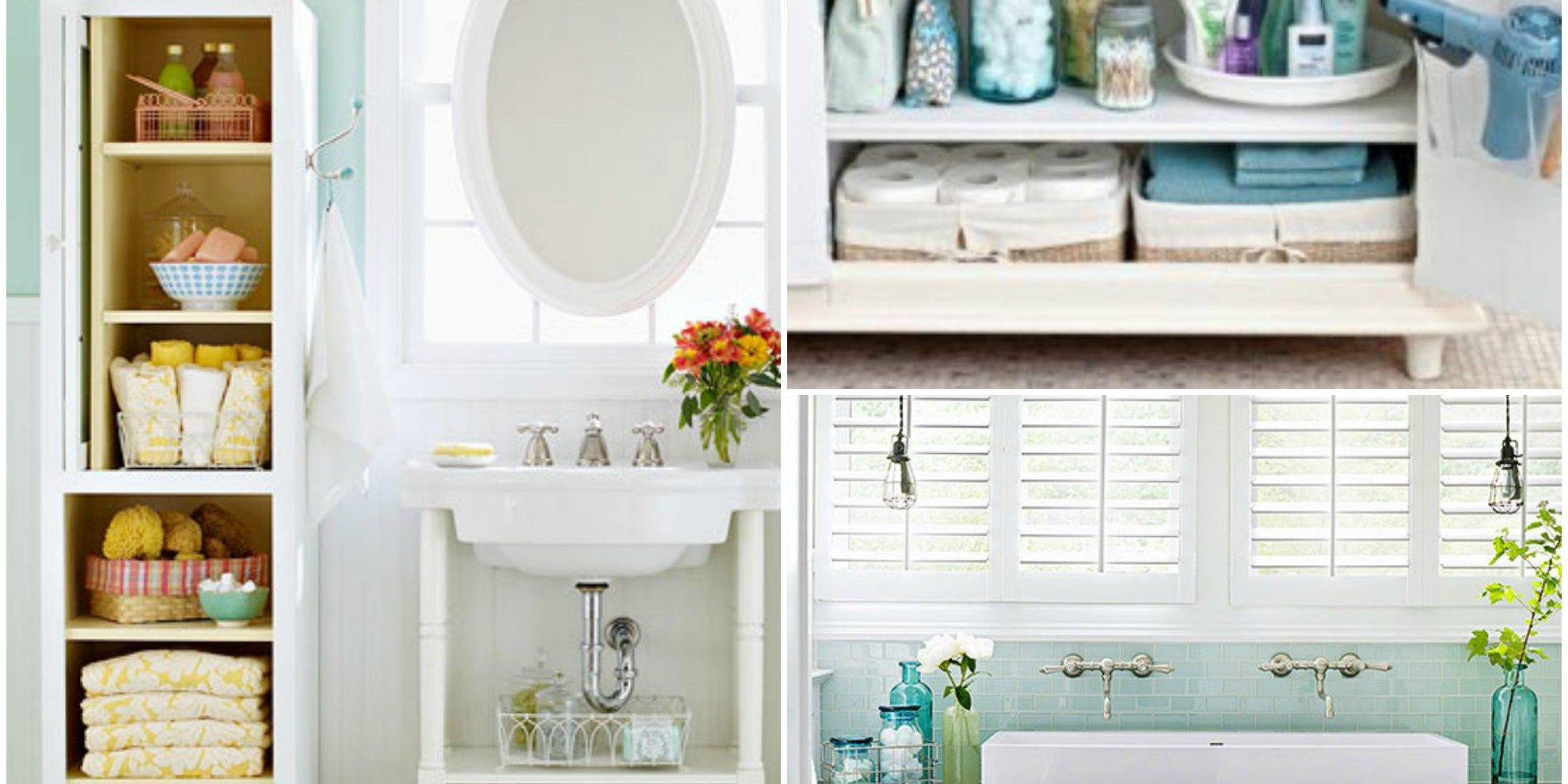 8 Incredible Organizing Tips for Your Bathroom Cabinets   Bathroom ...