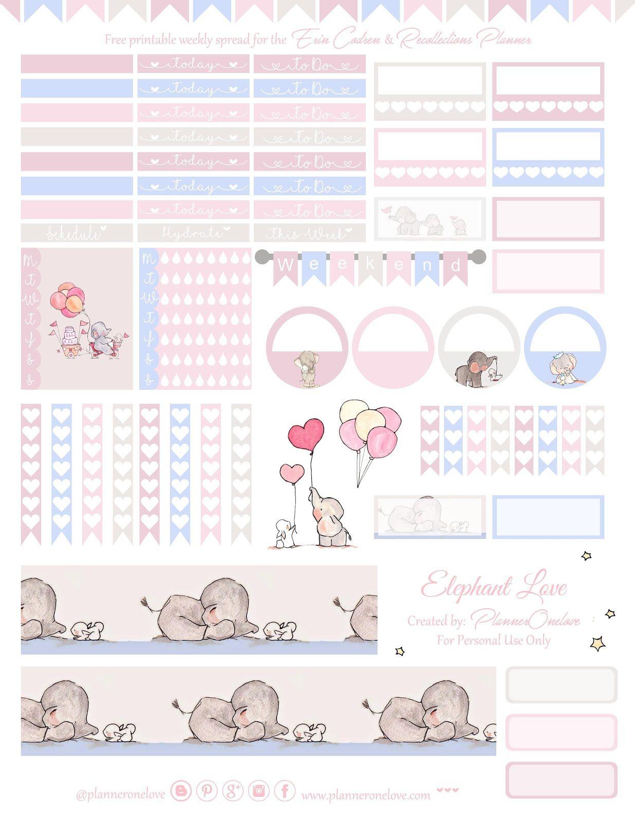 Pin de Krissie L en Planner Layouts | Pinterest | Imprimibles ...