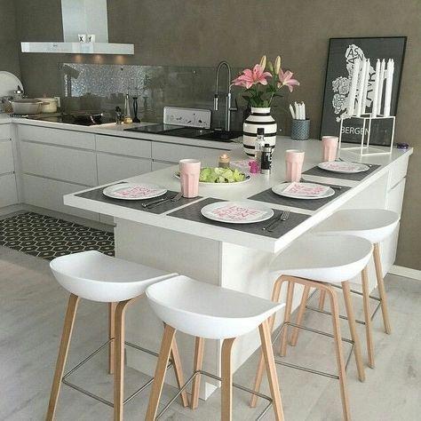 Cozinha linda Cocina Pinterest Banquetas Cocinas y Hogar