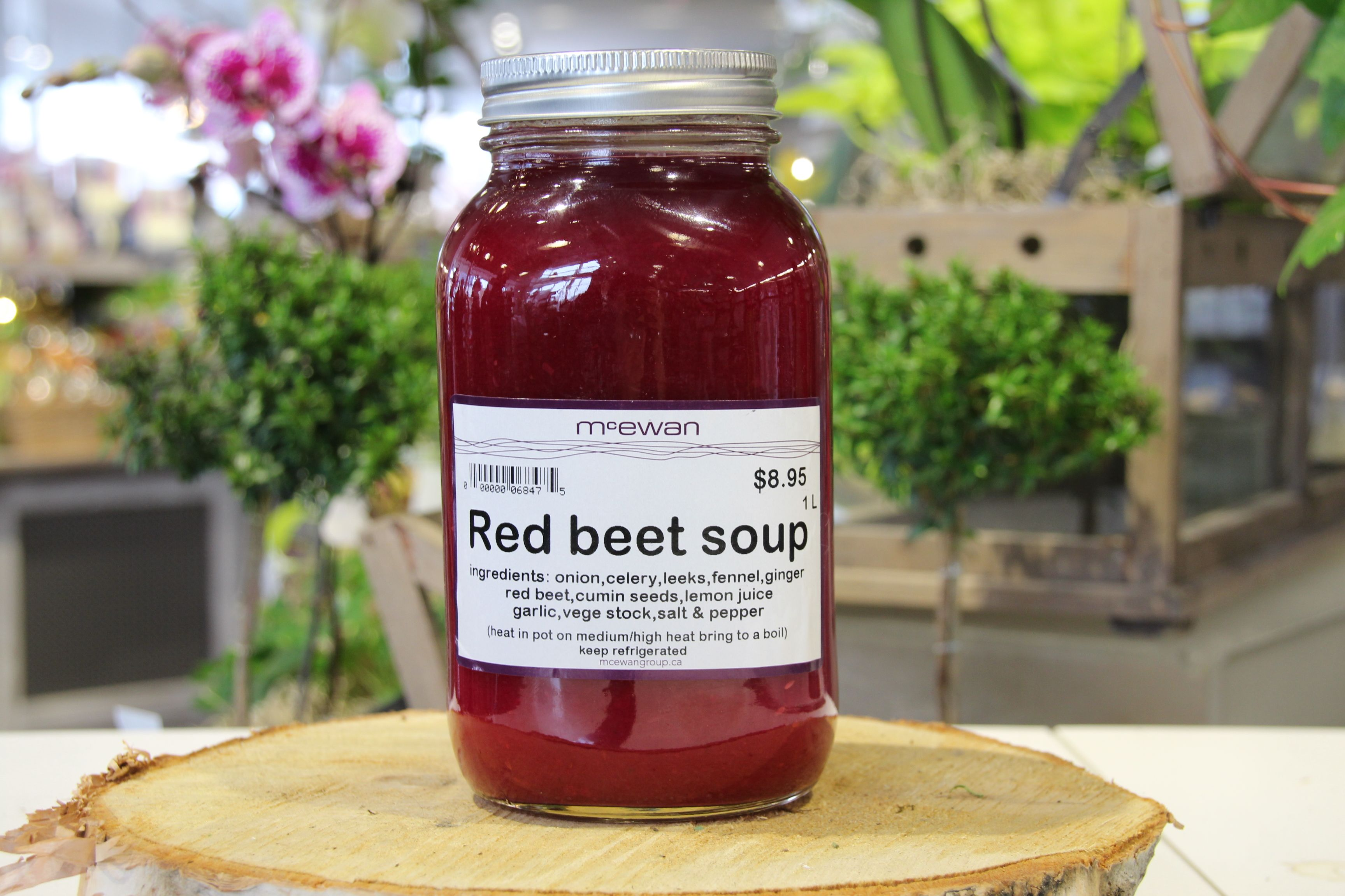 Red Beet Soup #McEwansOwn