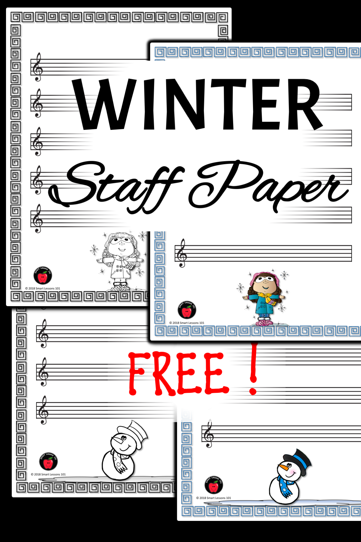 An Excellent Way To Reinforce Composition Melody Or Note Reading In Your Winter Activity Lesson