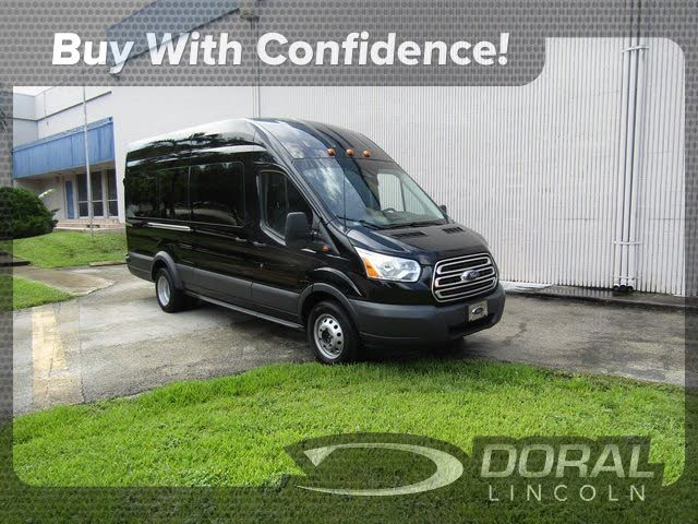 2018 Ford Transit Passenger 350 Hd Xlt Extended High Roof Lwb Drw Rwd With Sliding Passenger Side Door 38 990 Ford Transit Van For Sale Class B Rv