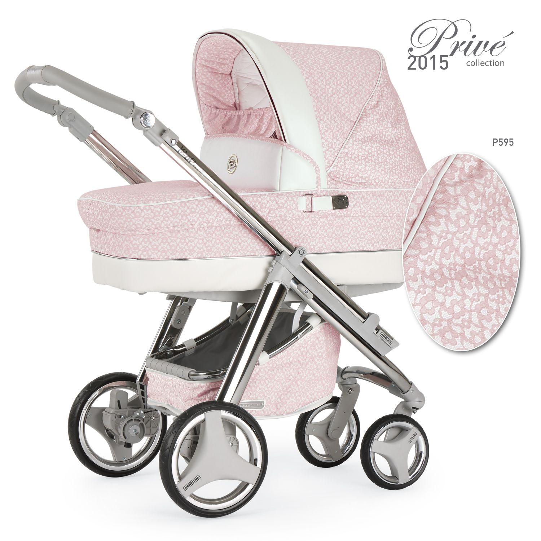 kinderwagen f r m dchen in pink mit zarten bl ten aus spitze modell b b b car kinderwagen. Black Bedroom Furniture Sets. Home Design Ideas
