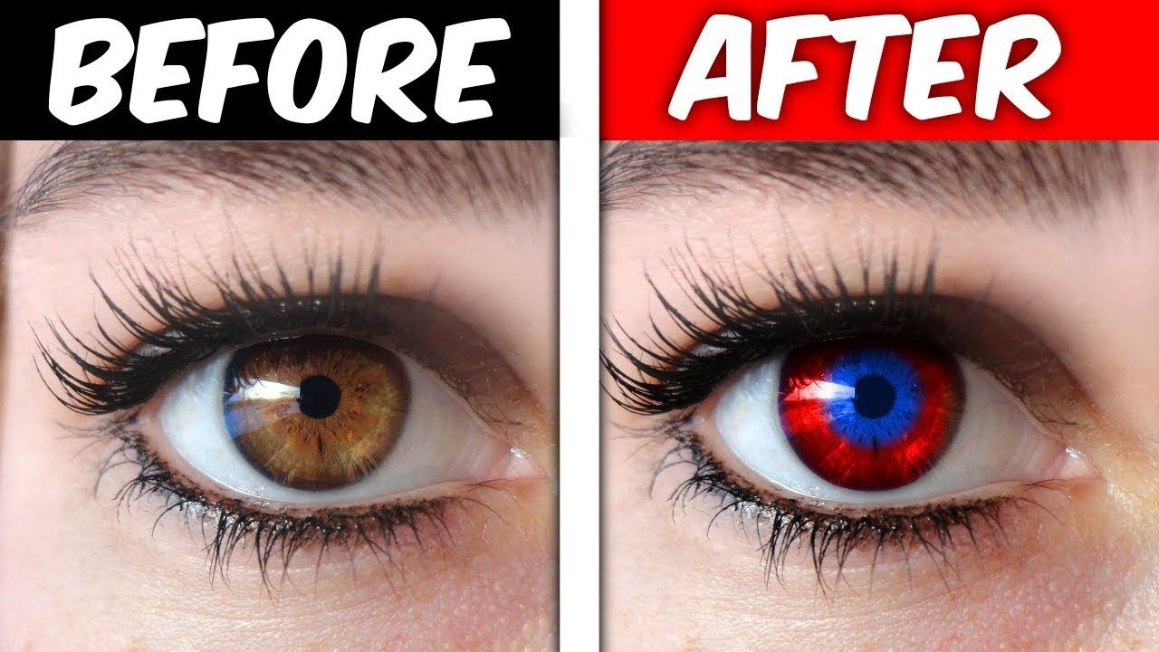 Change your eye color trick it works omg change your