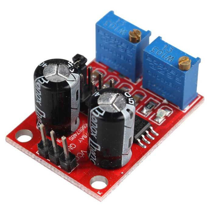 duty ratio adjustable module NE555 pulse frequency square wave signal generat
