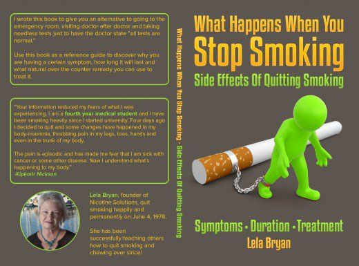"""What happens when you quit smoking (going """"cold turkey"""" or with methods  such as Chantix, Zyban, hypnosis, acupuncture, or nicotine patches), ..."""
