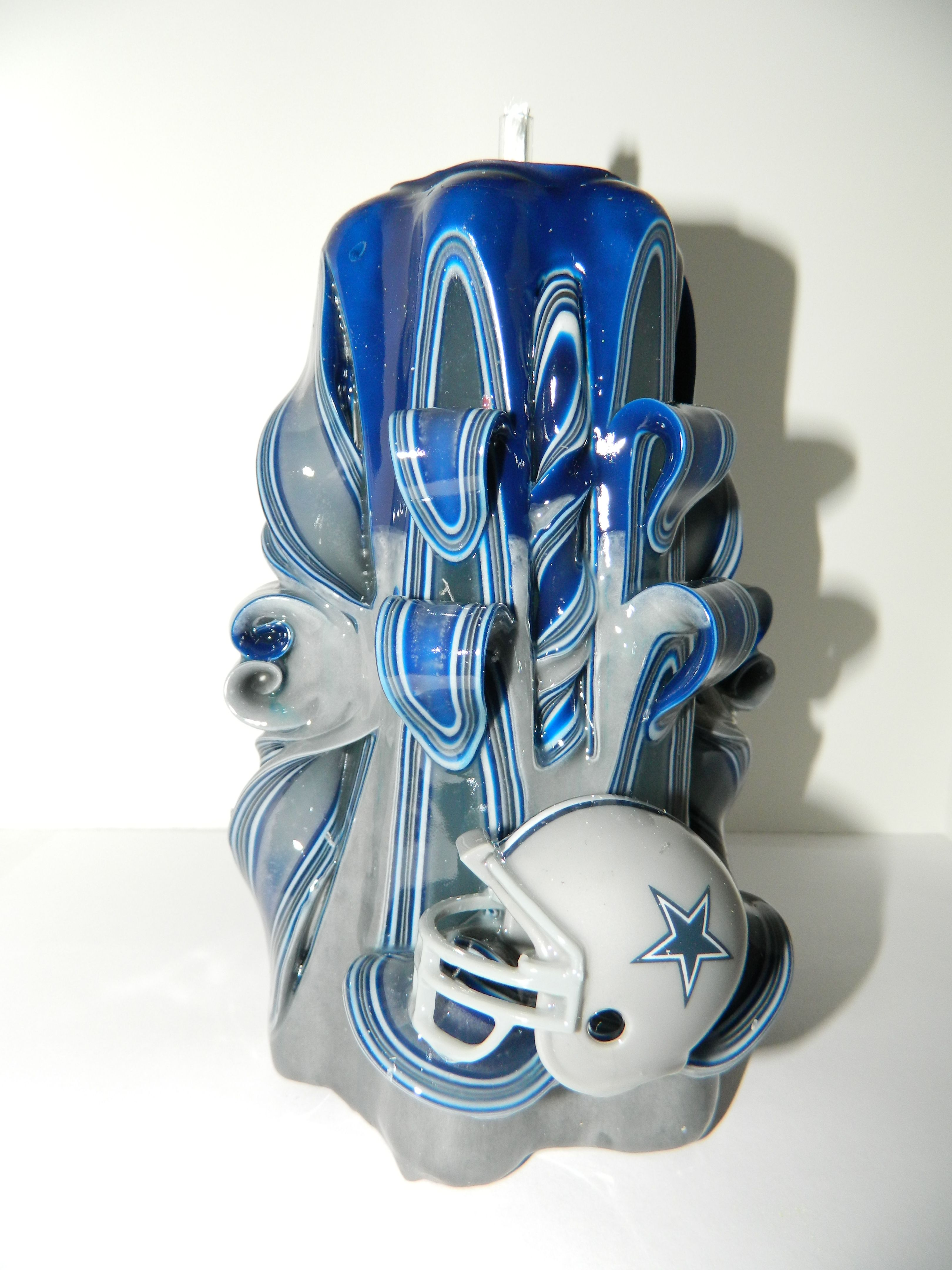 large dallas cowboys candle 35 sports candles pinterest