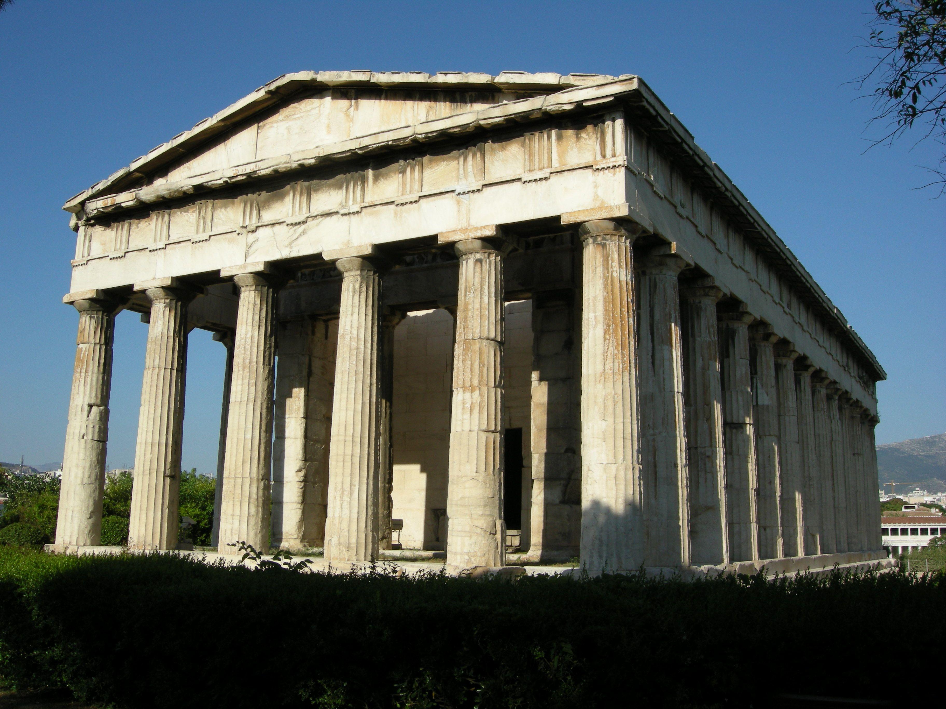 Temple Of Hephaestus Grecia Antigua Atenas Grecia
