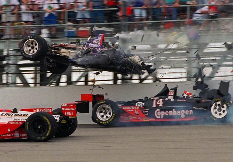 Best 500 Car Photos Spectacular: Spectacular Crashes From The Indianapolis 500