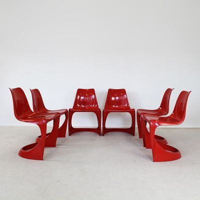 Molded Plastic Chairs   Steen Ostergaard for Cado. Molded Plastic Chairs   Steen Ostergaard for Cado   Design   Mid