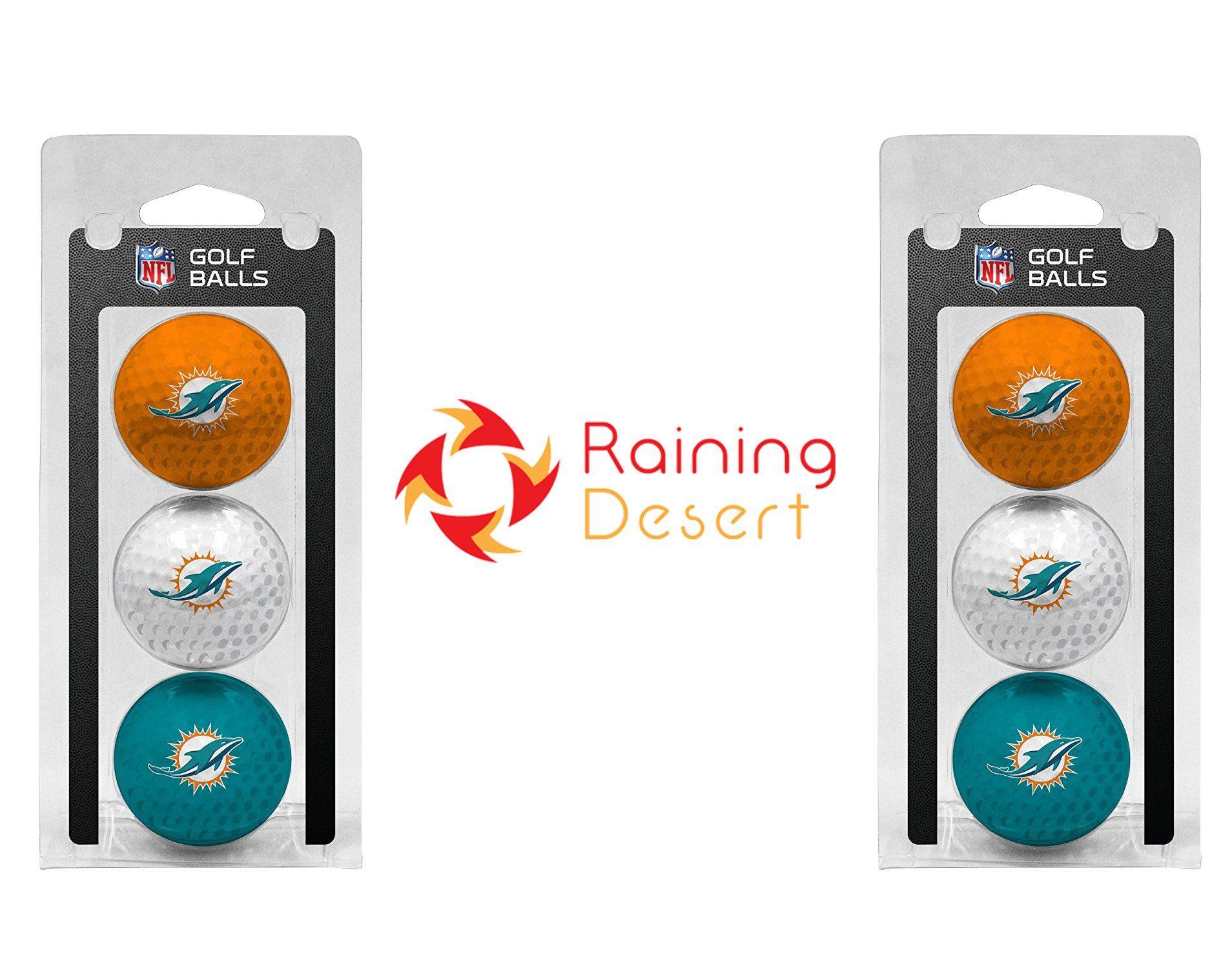 31959f1c Golf Balls *** NFL Team Logo/Team Color Golf Balls 2 packs of 3 with ...